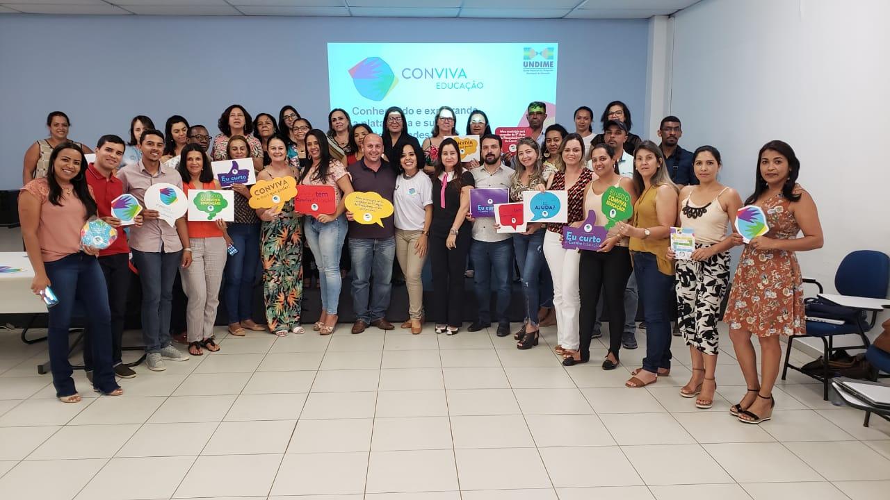 ENCONTRO ENTRE SECRETÁRIOS MUNICIPAIS DE EDUCAÇÃO DO...