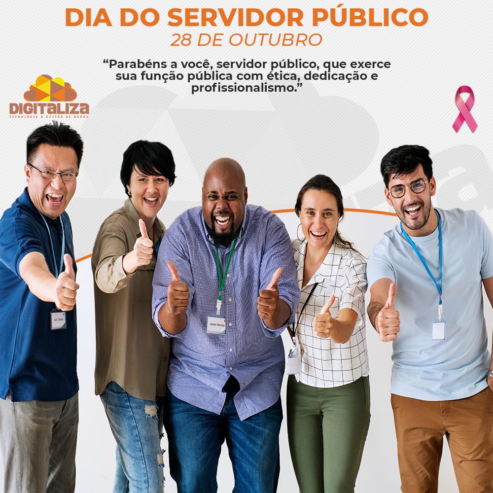 28 DE OUTRUBRO, DIA DO SERVIDOR PÚBLICO