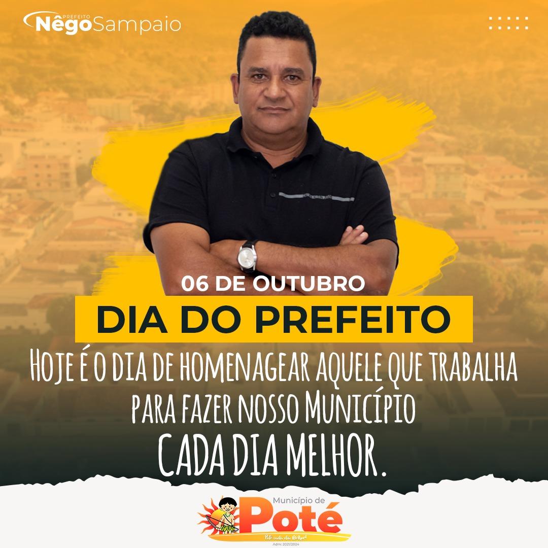 06 DE OUTUBRO - DIA DO PREFEITO