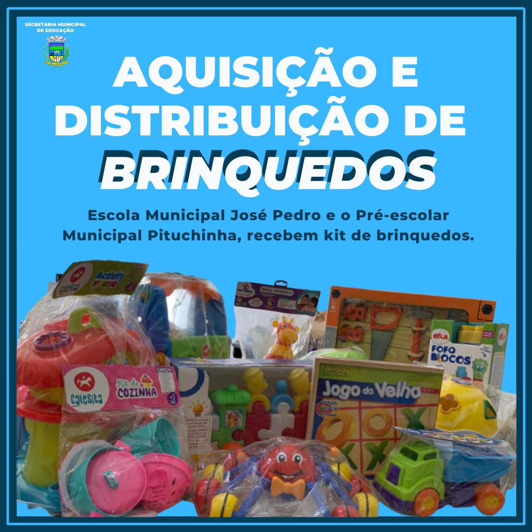 AQUISIÇÃO DE BRINQUEDO PARA A ESCOLA MUNICIPAL JOSÉ ...