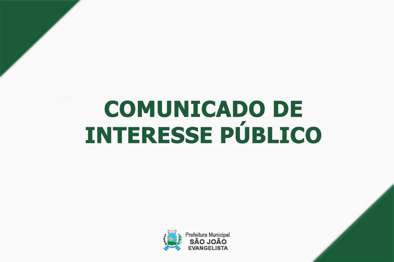 COMUNICADO DE INTERESSE PÚBLICO - 15/02/2021