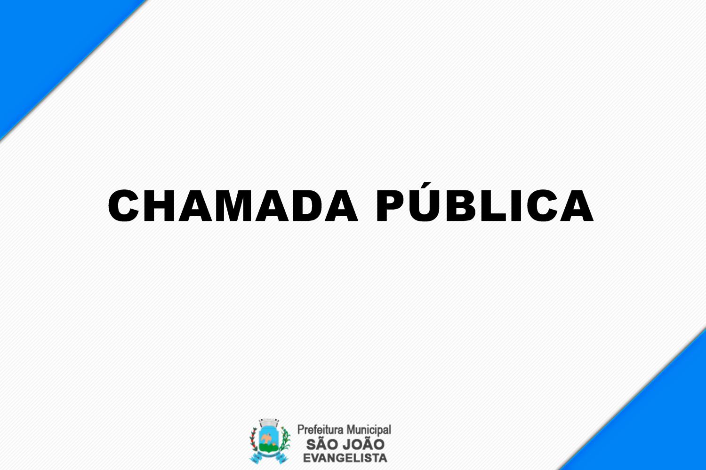 EDITAL DE CHAMADA PÚBLICA - AVISO DE CREDENCIAMENTO ...