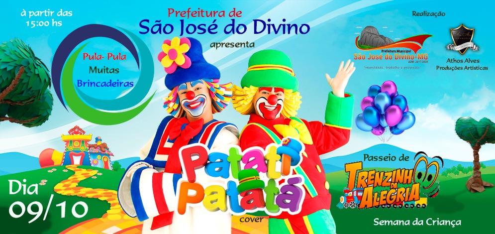 Prefeitura de São José do Divino apresenta Patati e Patatá (Cover)