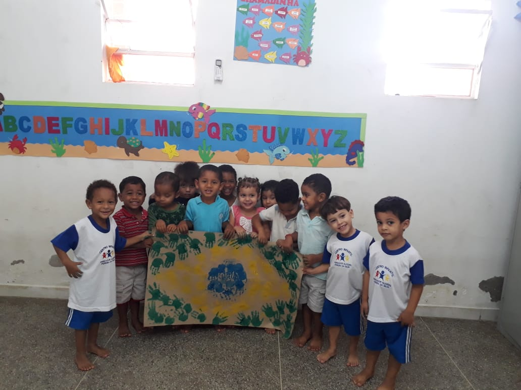 TRABALHO SOBRE A SEMANA DA INDEPENDÊNCIA NO CENTRO INFANTIL VEREADOR ALCIDES DA SILVA