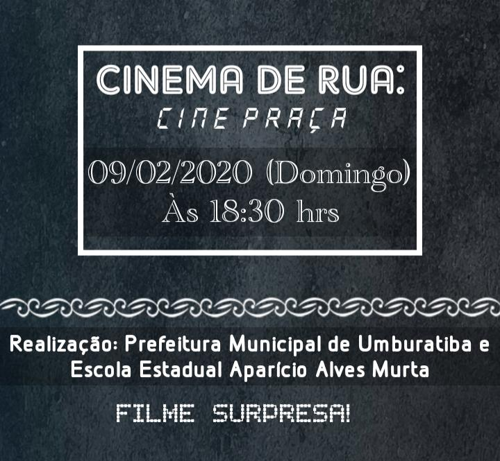 CINE PRAÇA - FILME SURPRESA