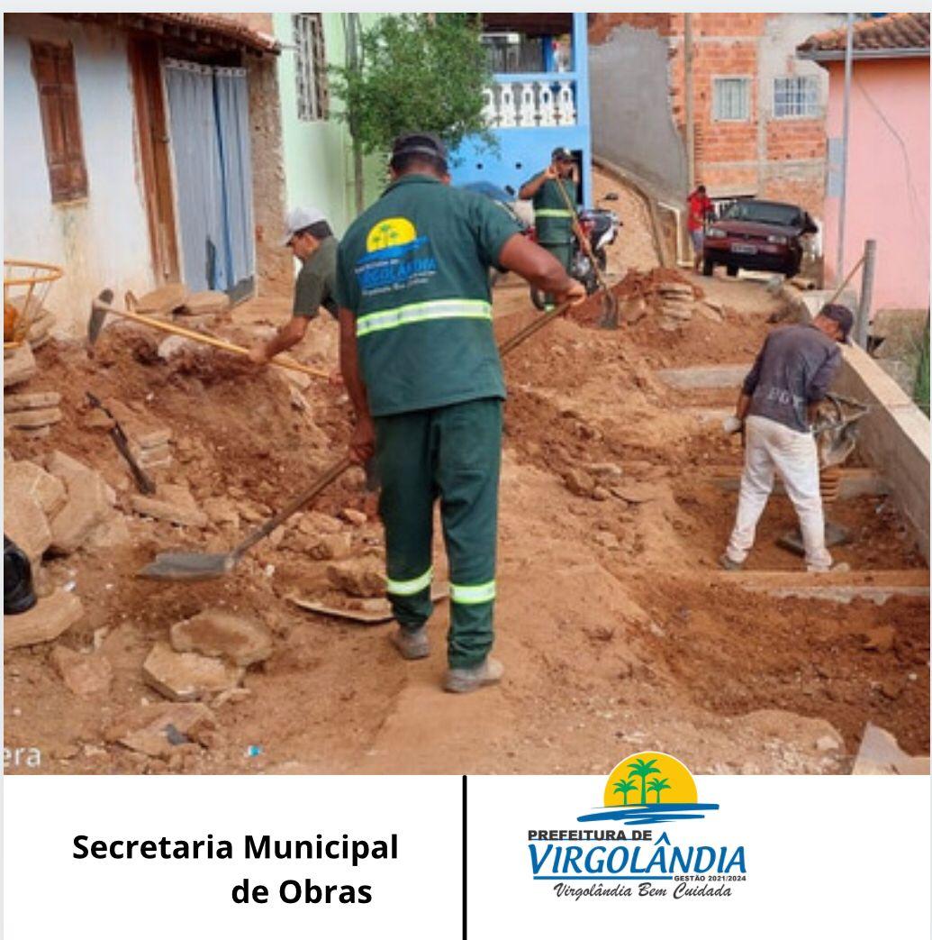 CONSTRUÇÃO DE UM MURO DE CONTENÇÃO NA RUA RAIMUNDO B...