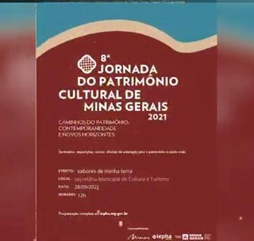 8ª JORNADA DO PATRIMÔNIO CULTURAL DE MINAS GERAIS – ...