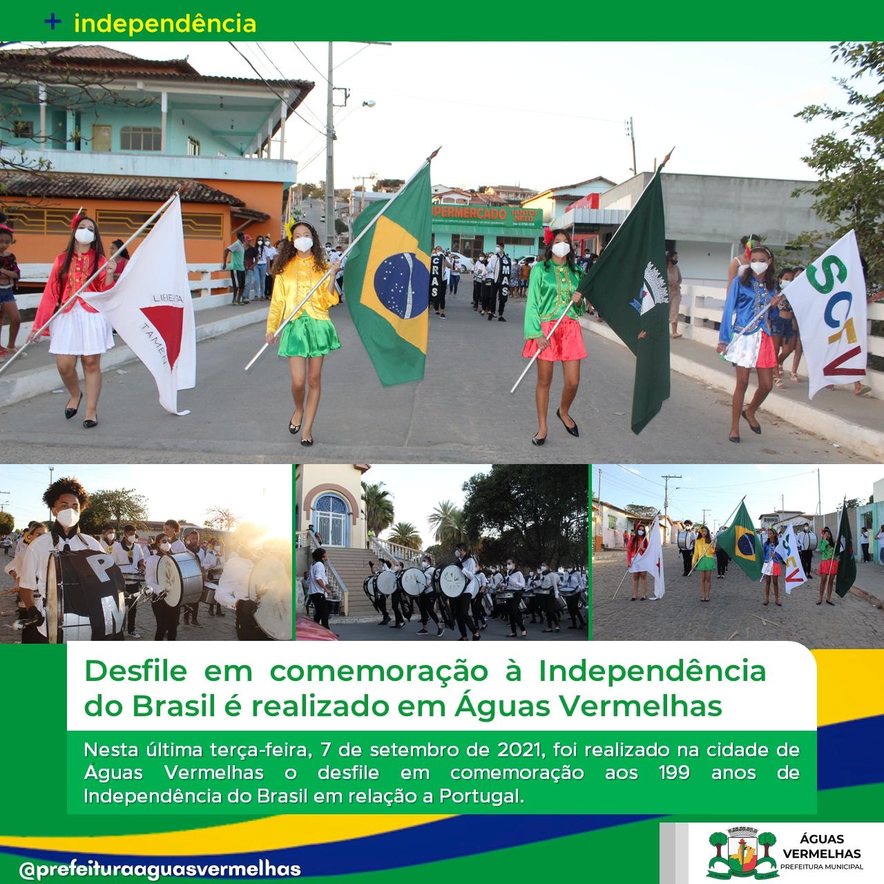 DESFILE EM COMEMORAÇÃO À INDEPENDÊNCIA DO BRASIL É R...