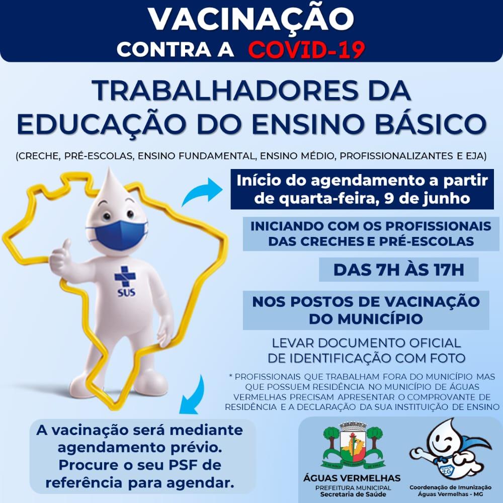 VACINAÇÃO CONTRA A COVID-19 NOS TRABALHADORES DA EDU...