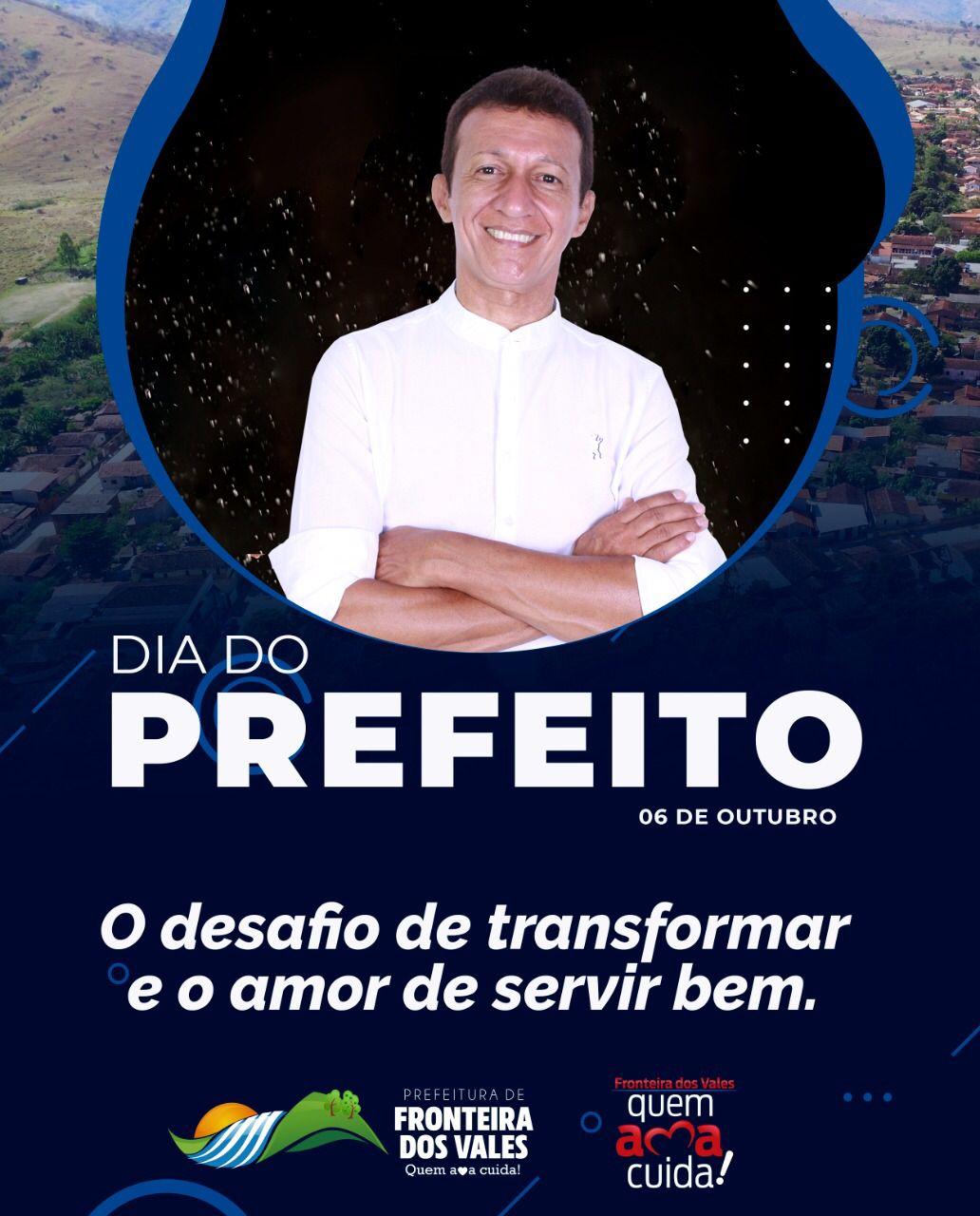 DIA DO PREFEITO, 06 DE OUTUBRO