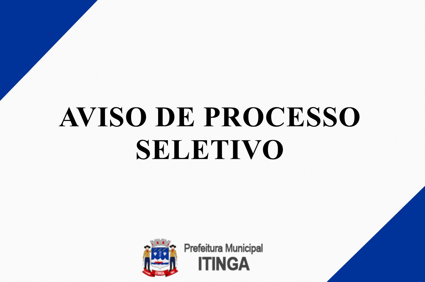 AVISO DE ABERTURA DO PROCESSO SELETIVO SIMPLIFICADO ...