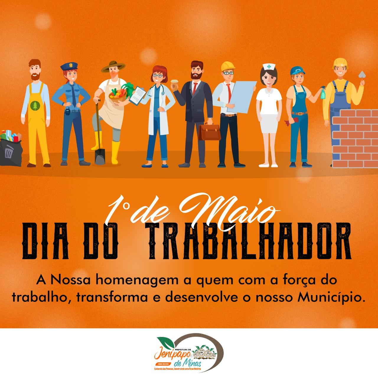 1º DE MAIO - DIA DO TRABALHO