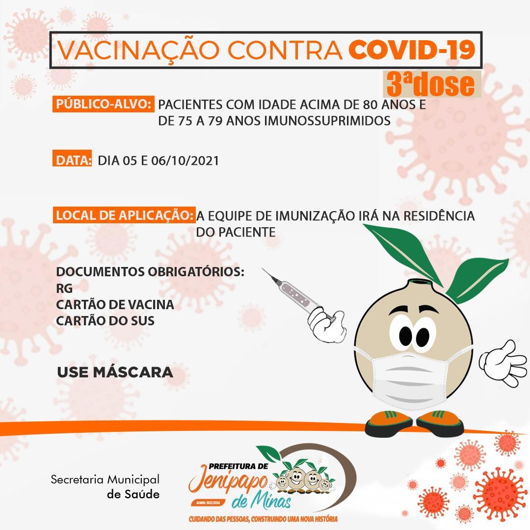 VACINAÇÃO CONTRA COVID-19 EM PESSOAS COM IDADE ACI...