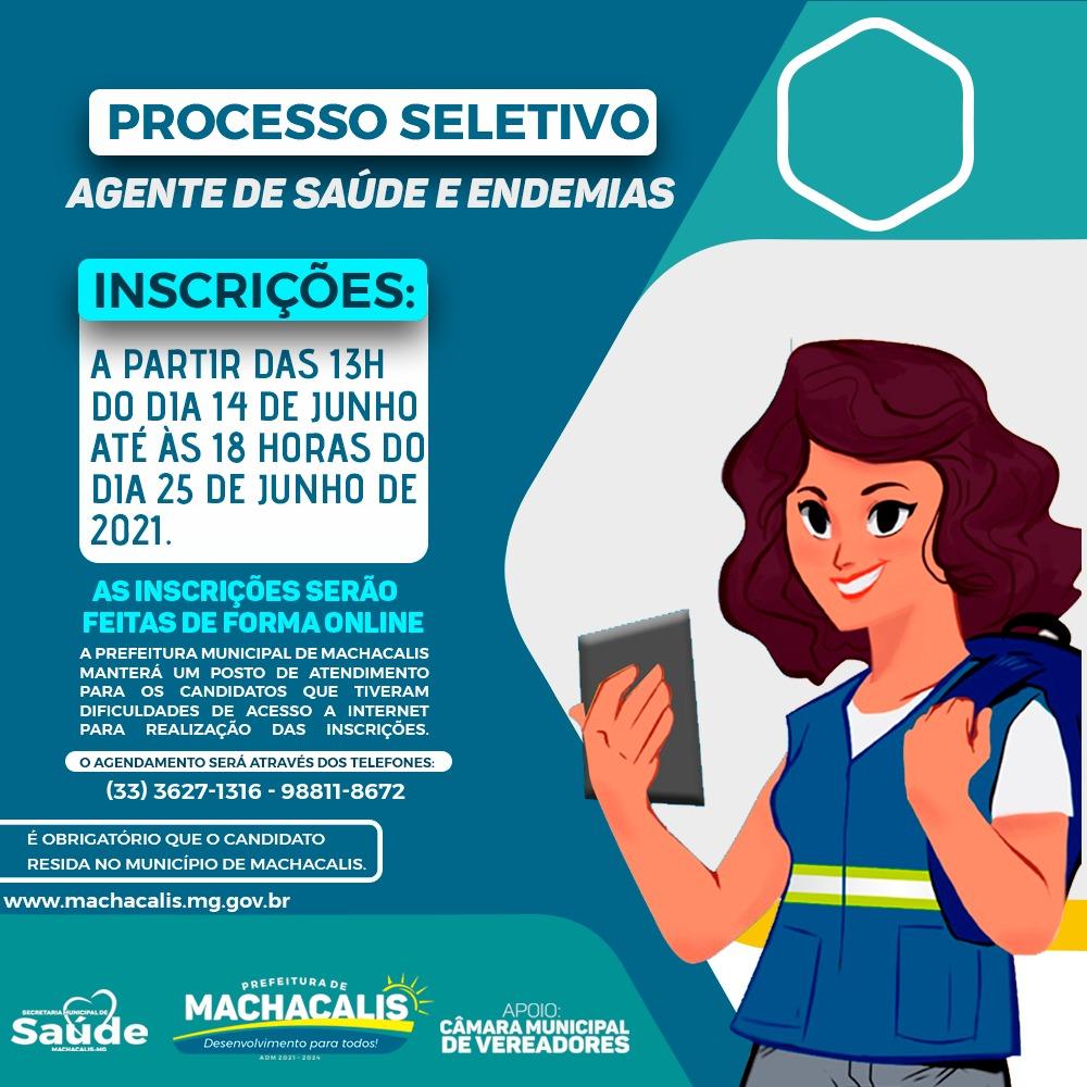 AGENTE COMUNITÁRIO DE SAÚDE E ENDEMIAS - PROCESSO SE...