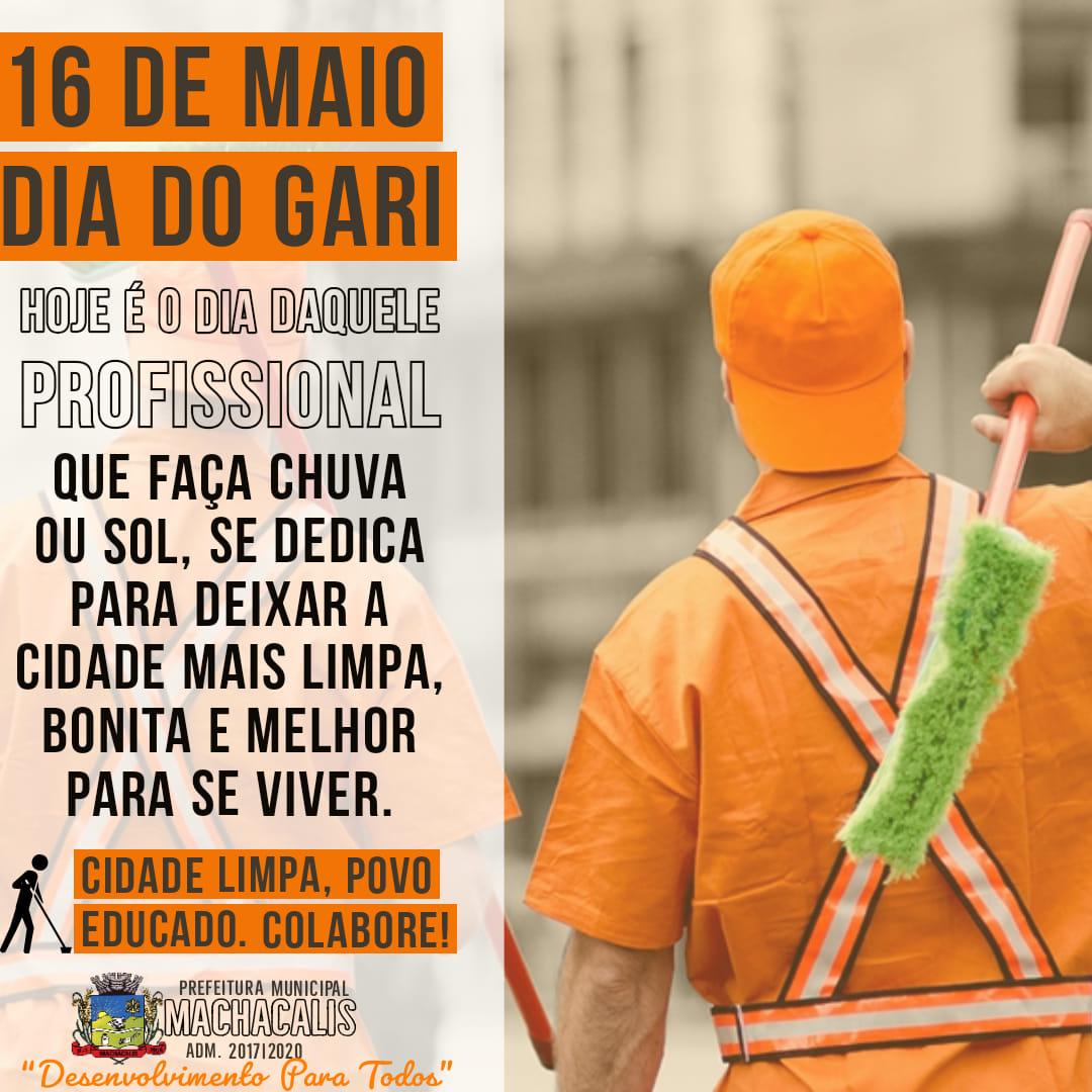 DIA DO GARI - 16/05/2020