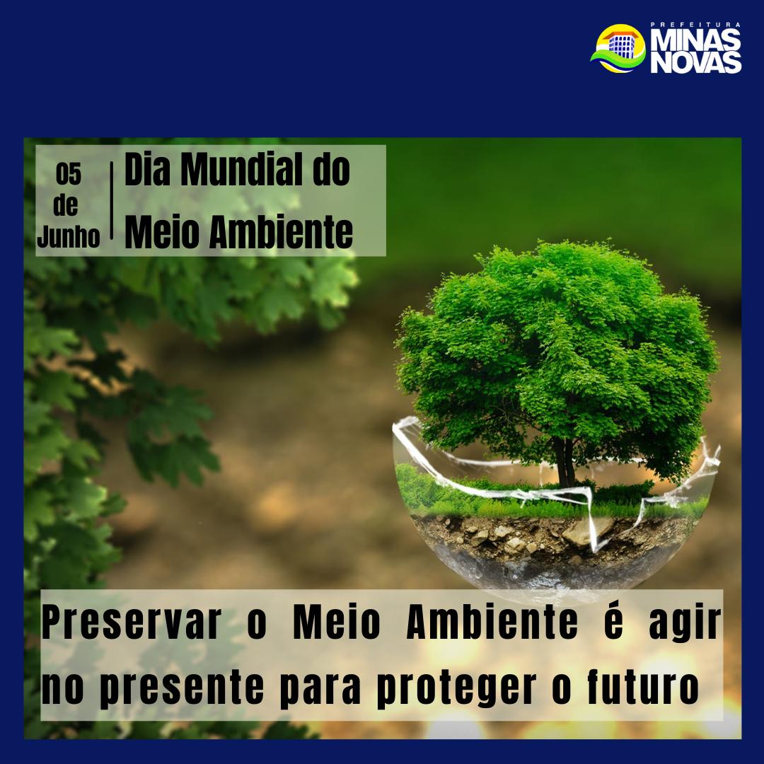 05 DE JUNHO, DIA MUNDIAL DO MEIO AMBIENTE!