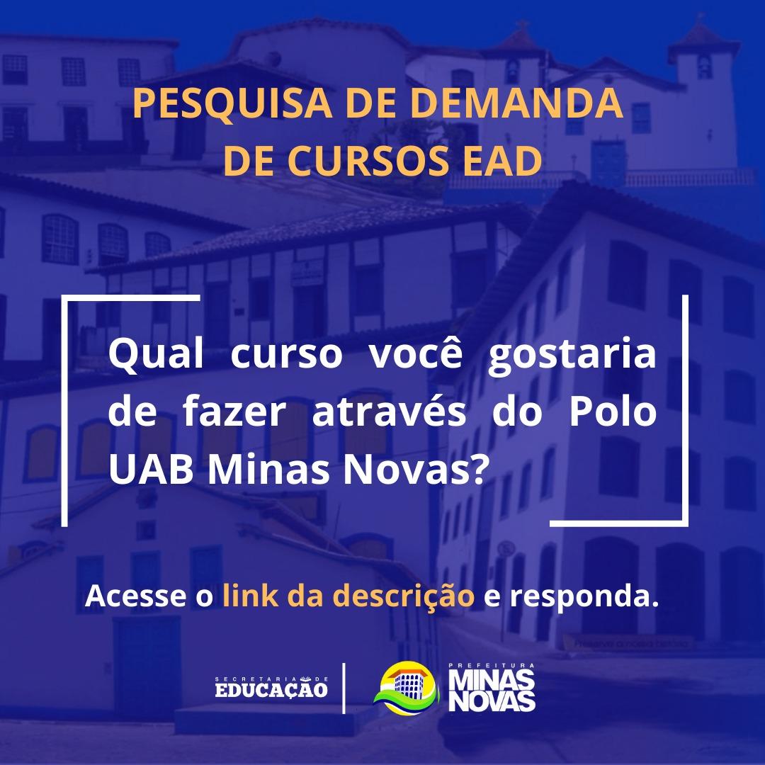 PESQUISA DE DEMANDA DE CURSOS DE GRADUAÇÃO E PÓS-GRA...