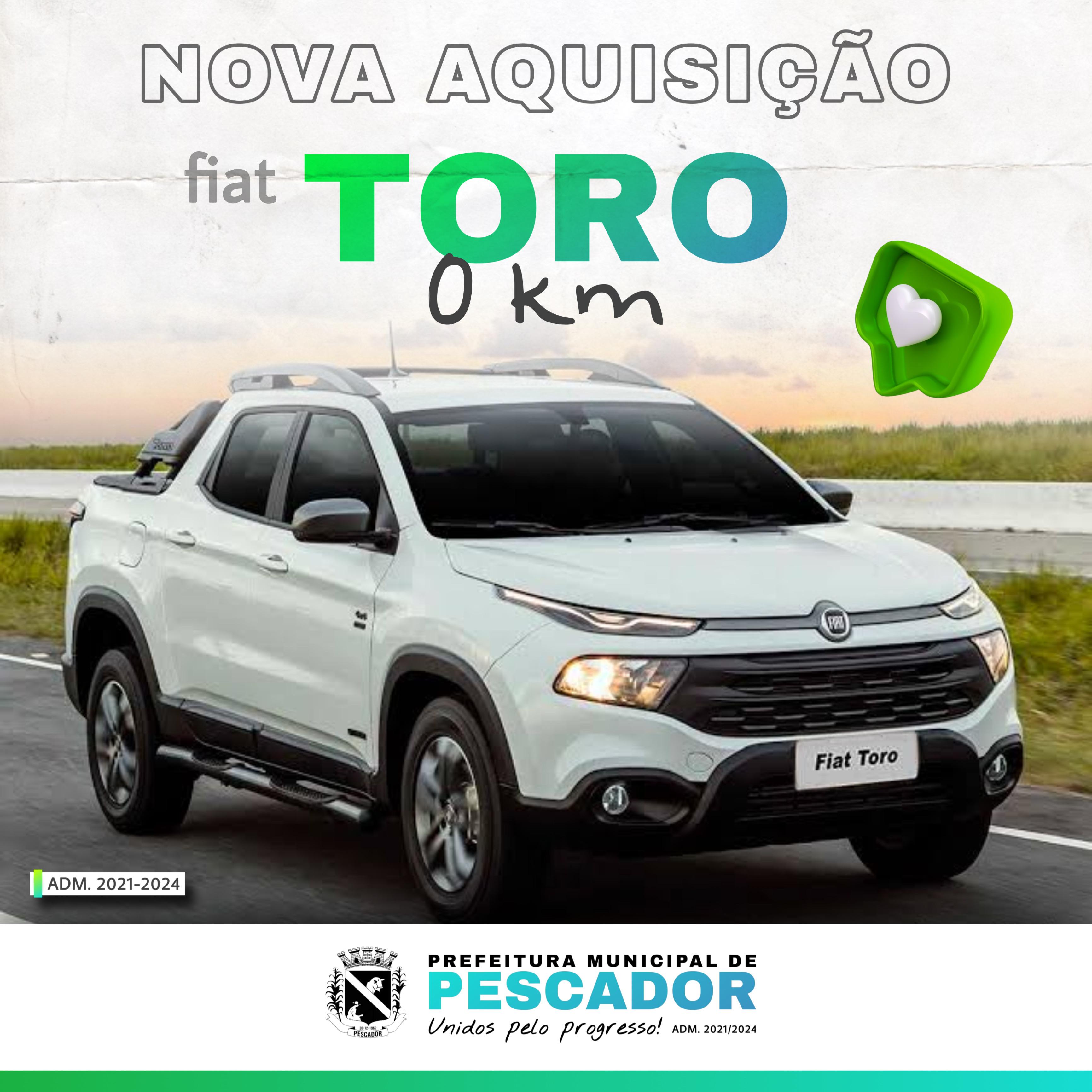 NOVA AQUISIÇÃO FIAT TORO O KM