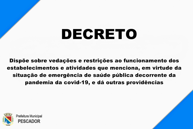 DECRETO MUNICIPAL 018/2020