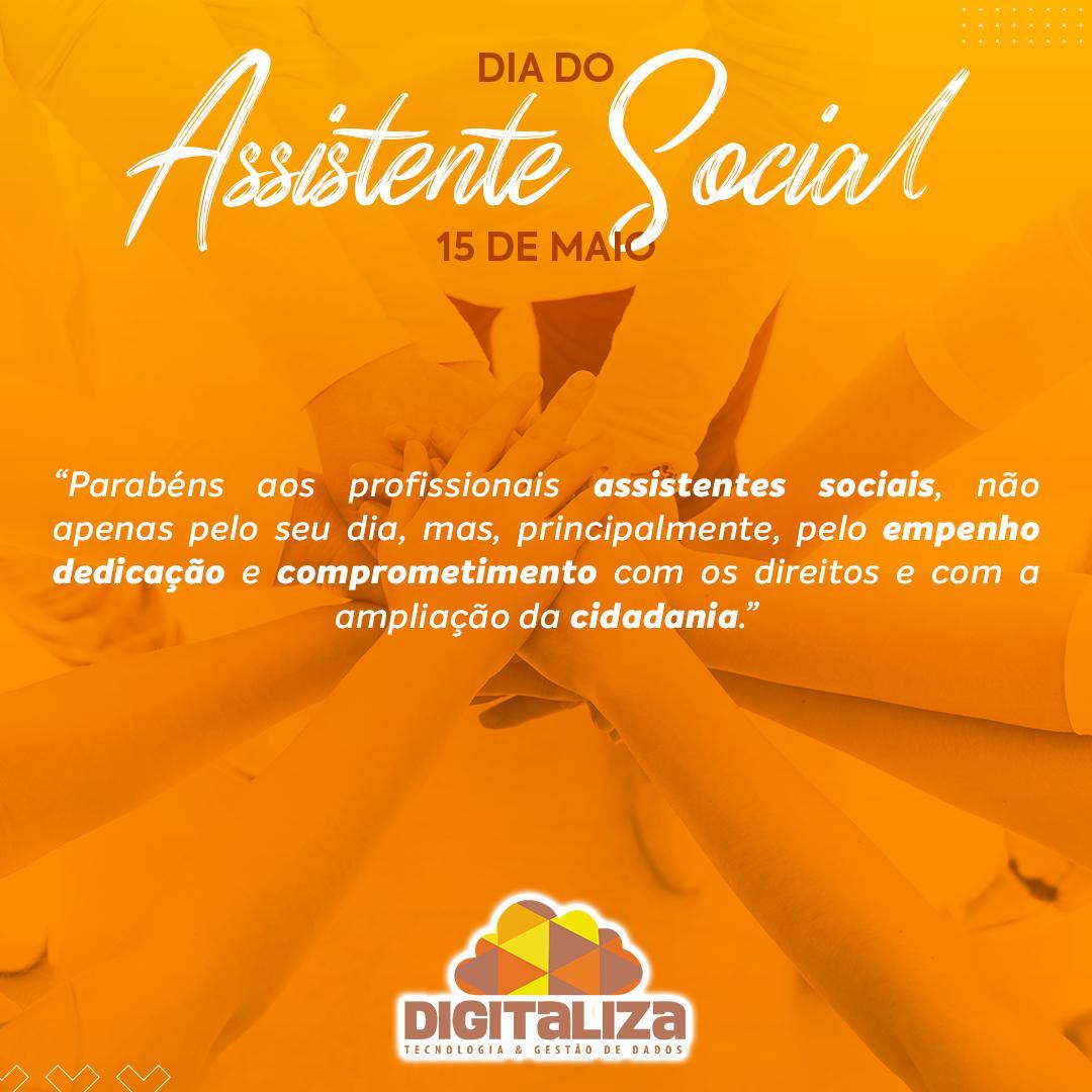 DIA DO ASSISTENTE SOCIAL - 15/05/2020