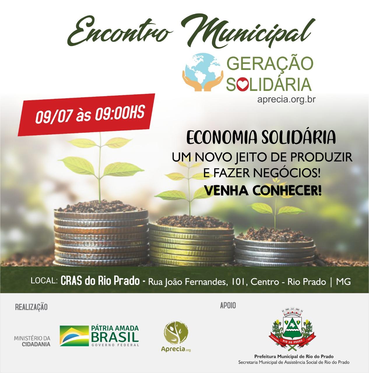 ENCONTRO MUNICIPAL GERAÇÃO SOLIDÁRIA