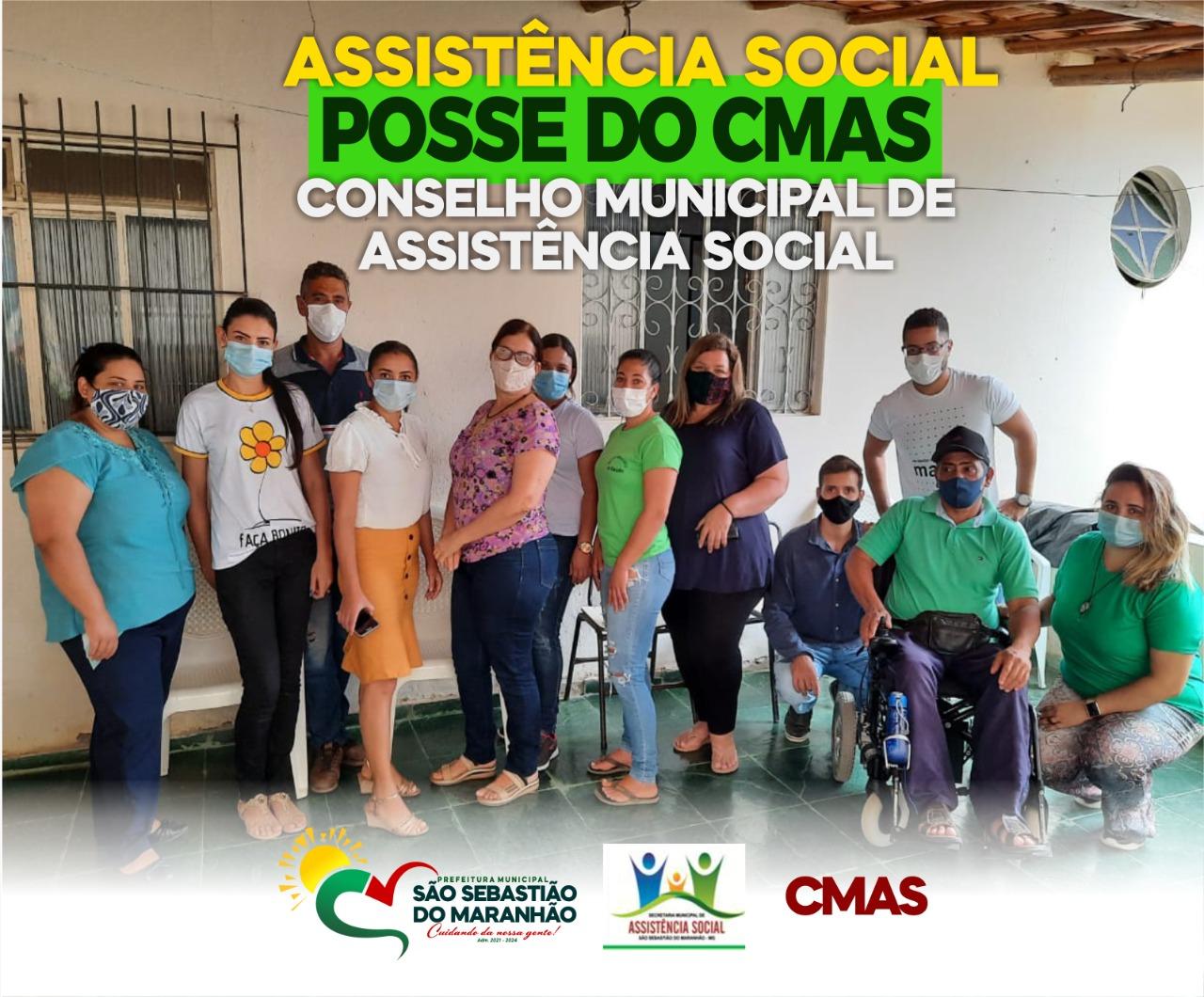 POSSE DO CONSELHO MUNICIPAL DE ASSISTÊNCIA SOCIAL