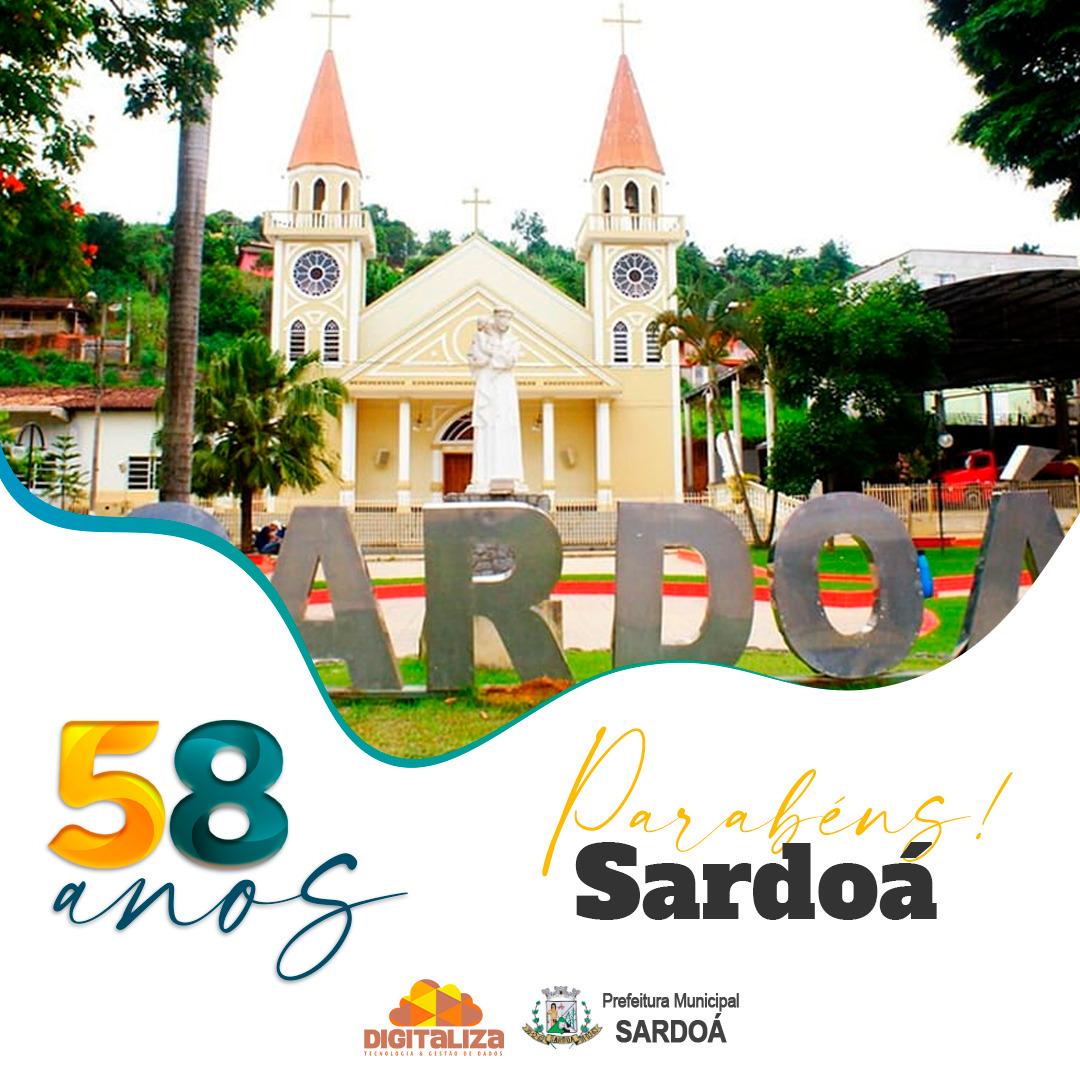 58 ANOS DA NOSSA CIDADE - SARDOÁ