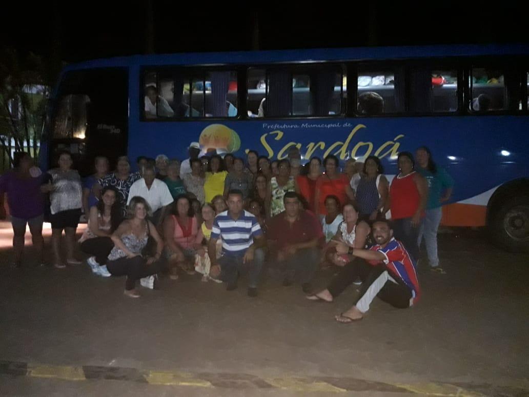 Viagem do Grupo da Terceira Idade de Sardoá